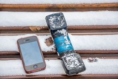 Cell phone concept royalty free stock images