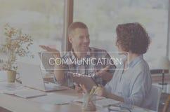 Concept moderne de communication Photo libre de droits