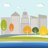 Concept moderne de ville Image stock
