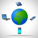 Concept moderne technologie Stock Foto's