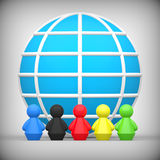 Concept mondial d'amitié Illustration Stock