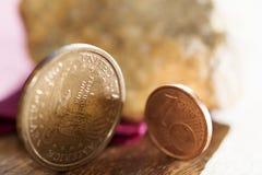 Concept monetair stelsel royalty-vrije stock foto
