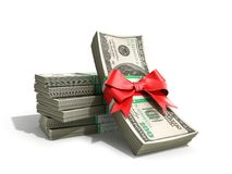 Concept of money Deposite Bonus Stack of dollar bills Cash With Stock Photos