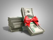 Concept of money Deposite Bonus Stack of dollar bills Cash With Stock Images