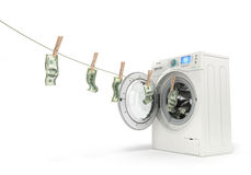 Concept of money laundering, Royalty Free Stock Photo