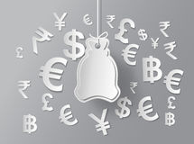 Concept of money. Royalty Free Stock Photos