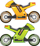 Concept motorcycle Electric Bike Vector Royalty Free Stock Photo