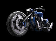 Concept motorcycle isolated Royalty Free Stock Images