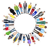 Concept multi-ethnique d'unité de variation d'appartenance ethnique de diversité Photo libre de droits