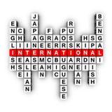 Concept multilingue Photographie stock libre de droits