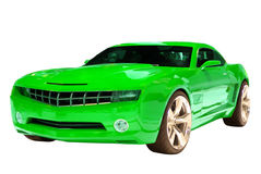 Concept Muscle Car Stock Photography