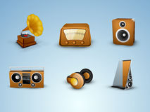 Concept of musical instrument. Stock Image