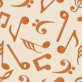 Concept of musical notes. Royalty Free Stock Photo