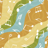 Concept of musical notes. Stock Image