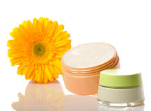 Concept of natural cosmetic stock images