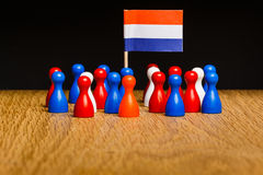Concept the netherlands kingdom Stock Images