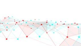 Concept netwerken, technologie of zaken Royalty-vrije Stock Afbeelding