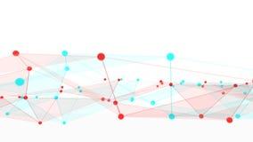 Concept netwerken, technologie of zaken Stock Foto's
