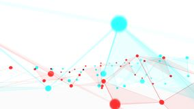 Concept netwerken, technologie of zaken Stock Foto