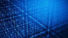 Concept of Network, internet communication, Big Data - Technology background Stock Photos