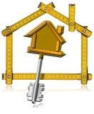 Concept of New Home Stock Photos