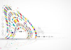 Concept for New Technology Corporate Business & development stock illustration