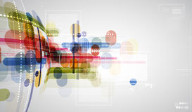 Concept for New Technology Corporate Business & development royalty free illustration