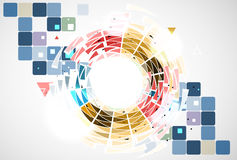 Concept for New Technology Corporate Business & development Royalty Free Stock Photo