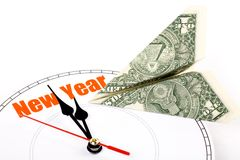 Concept of New Year Stock Photos