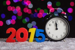 The concept of the new year. Stock Images