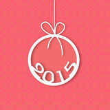 Concept of New Year celebration. Royalty Free Stock Photography