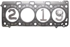 The concept of the new year, two thousand nineteen. From the details of the engineering industry and automotive parts lined figures 2019. The concept of the new royalty free stock photos