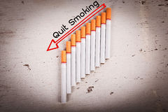Concept No Smoking Royalty Free Stock Photography
