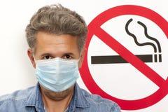 Concept non-fumeurs Photographie stock libre de droits