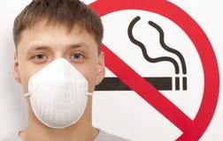 Concept non-fumeurs Images libres de droits