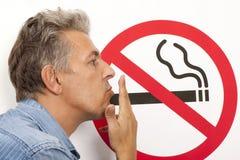 Concept non-fumeurs Photos stock
