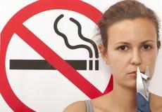 Concept non-fumeurs Image stock