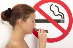 Concept non-fumeurs Image libre de droits