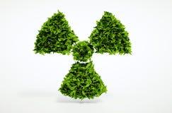 Concept nucléaire d'écologie alternative Photo libre de droits