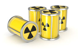 Concept of nuclear energy Royalty Free Stock Images