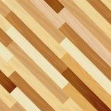 Concept oblique rayé coloré par plancher abstrait en bois Images stock