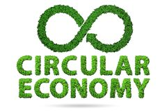 Free Concept Of Circular Economy - 3d Rendering Royalty Free Stock Photos - 220272958