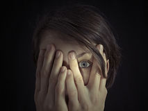 Free Concept Of Fear, Secret. Royalty Free Stock Photography - 86030897
