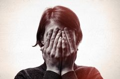 Free Concept Of Fear,shame, Domestic Violence. Stock Photography - 102351842