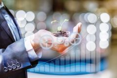 Concept Of Growth And Development Investments. Stock Photos