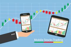 Concept Of Inforgraphic Trading Stock Market Growing Stock Photo