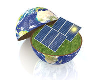 Concept Of Renewable Energy Royalty Free Stock Photography