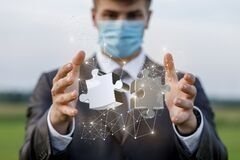 Free Concept Of Solving Complex Problems In Business During A Pandemic Stock Images - 190360754