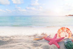 Free Concept Of Summertime On Tropical Beach Stock Images - 89680634