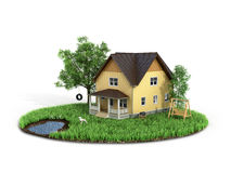 Concept Of Sweet Home. Royalty Free Stock Image